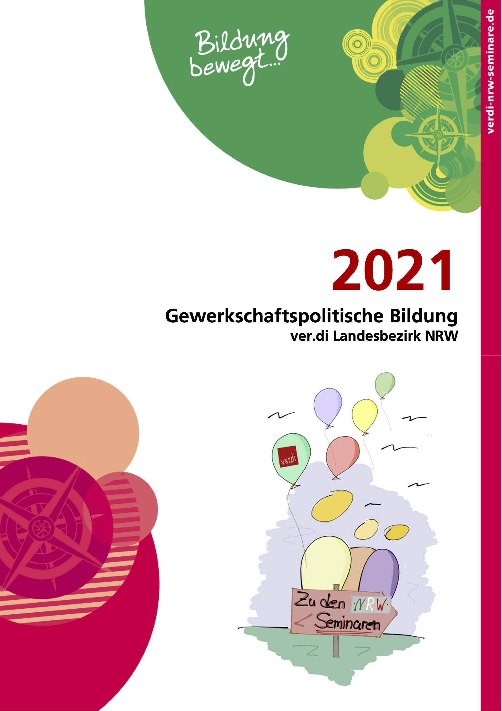 Gewerkschaftspolitische Bildung ver.di Landesbezirk NRW 2021