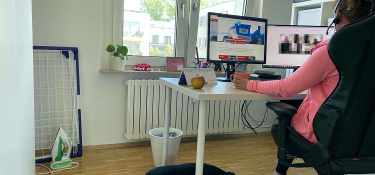 Home Office bzw. mobiles Arbeiten bei der DRV KBS