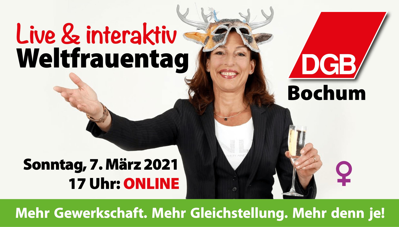 Internationaler Frauentag 2021 (DGB Bochum)