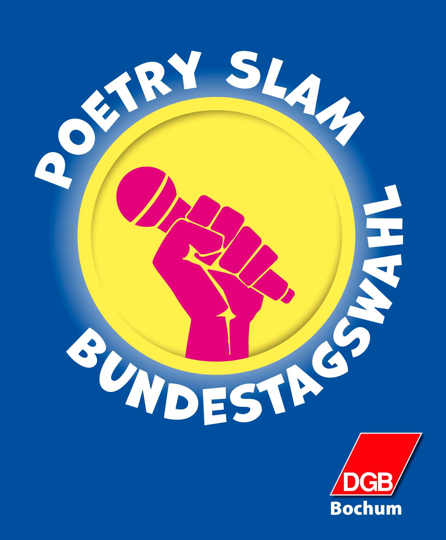 Poetry Slam (DGB Bochum) zur Bundestagswahl