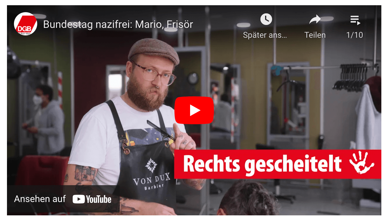 Bundestag Nazifrei (YouTube-Playlist)